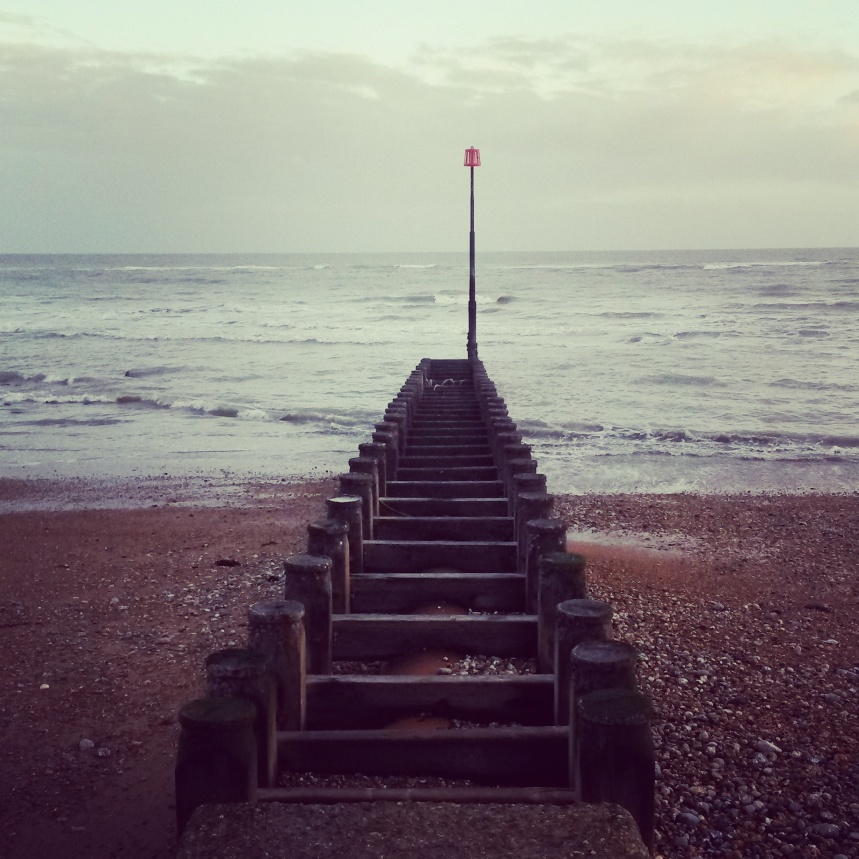 Another shot from my contemplative 'post-redundancy' stroll along the beach earlier.